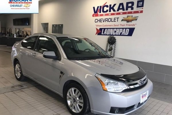 2008 Ford Focus SES  2.0L, LOW KILOMETERS, AUTOMATIC TRANSMISSION  - $157.64 B/W