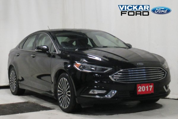 2017 Ford Fusion SE AWD 2.0 Eco Leather Moonroof & Navigation