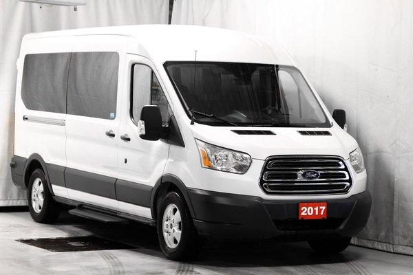 2017 Ford Transit 350 Wagon XLT - 148 WB - Medium Roof - Sliding Pass.side Car