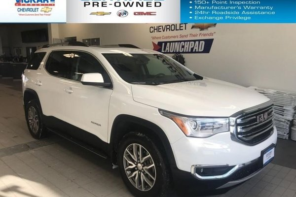 2018 GMC Acadia SLE    FWD, REMOTE START, SUNROOF, BACK UP CAMERA  - $231.40 B/W