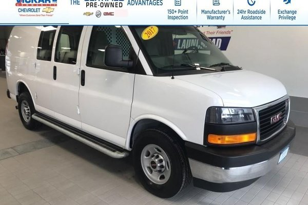 2017 GMC Savana Cargo Van V8 4.8L, REAR WHEEL DRIVE,  - $172.90 B/W