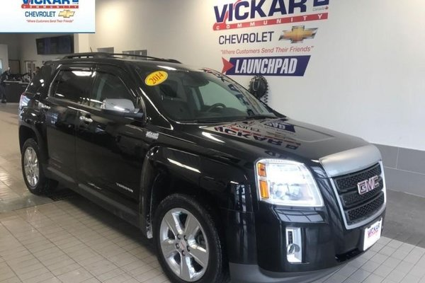 2014 GMC Terrain SLT   LEATHER SEATS, AWD, BACK UP CAMERA  - $132.90 B/W