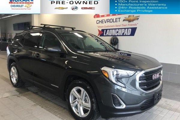2018 GMC Terrain SLE  FWD, NAVIGATION, SUNROOF   - $184.42 B/W
