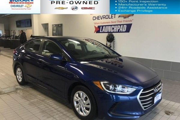2017 Hyundai Elantra FUEL EFFICIENT, AUTOMATIC, BLUETOOTH  - $123.82 B/W