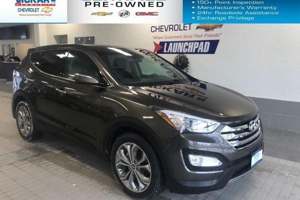 2013 Hyundai Santa Fe Sport AWD, SUNROOF, LEATHER SEATS, NAVIGATION  - $159.64 B/W