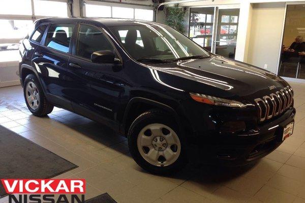 2014 Jeep Cherokee Sport / Local Trade