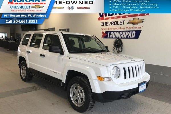 2015 Jeep Patriot Sport  - $144.46 B/W - Low Mileage