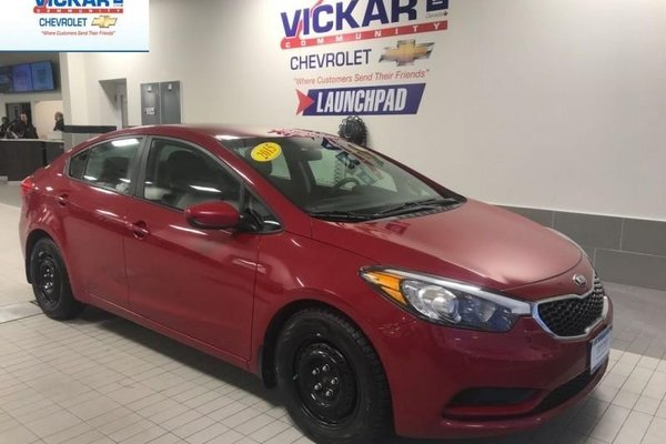 2015 Kia Forte LX  AUTOMATIC, BLUETOOTH, FUEL EFFICIENT  - $102.05 B/W