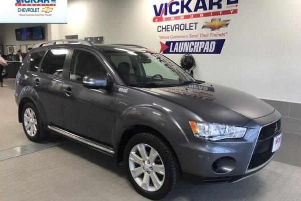 2010 Mitsubishi Outlander GT  4WD, LEATHER SEATS, SUNROOF  - $116.31 B/W