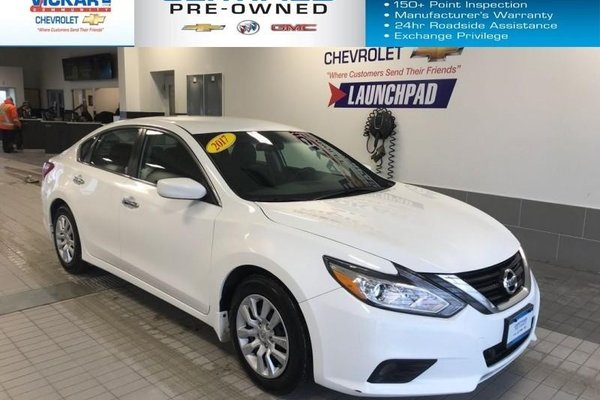 2017 Nissan Altima 2.5 AUTOMATIC, AIR CONDITION, GREAT ON FUEL  - $120.01 B/W