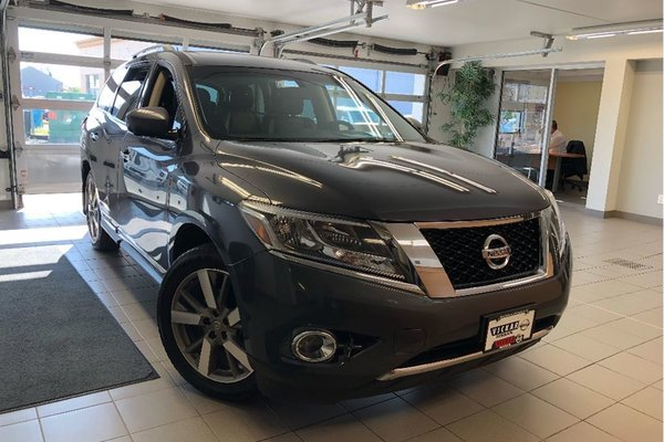 2014 Nissan Pathfinder Platinum - LEATHER / DVD / FRONT & REAR HEATED SEA