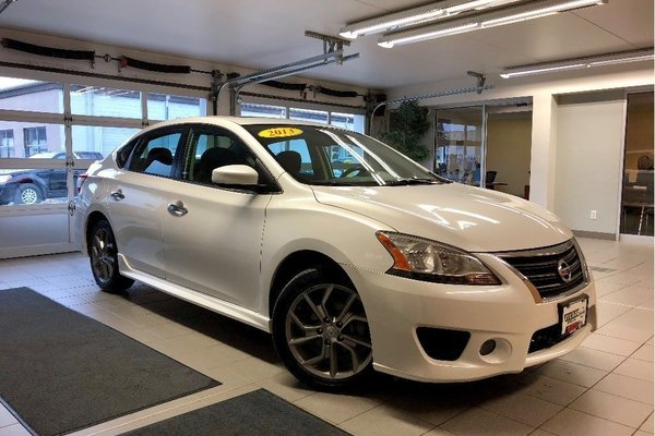 2013 Nissan Sentra 1.8 SR Premium - NAV / HEATED SEATS / SUNROOF