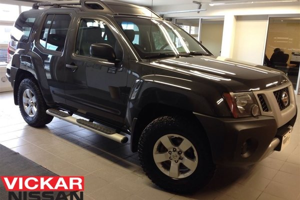 2011 Nissan Xterra SV/LOCAL TRADE/IMMACULATE!!