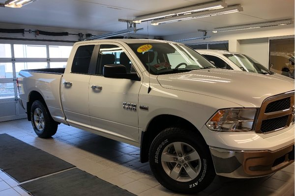 Used Tires Winnipeg >> Used 2014 Ram 1500 Slt 4x4 Local Trade New Tires Mint White In