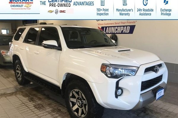 2018 Toyota 4Runner SR5 SUNROOF, NAVIGATION, LEATHER SEATS, 4X4 OFFROAD !!!  - $302.20 B/W