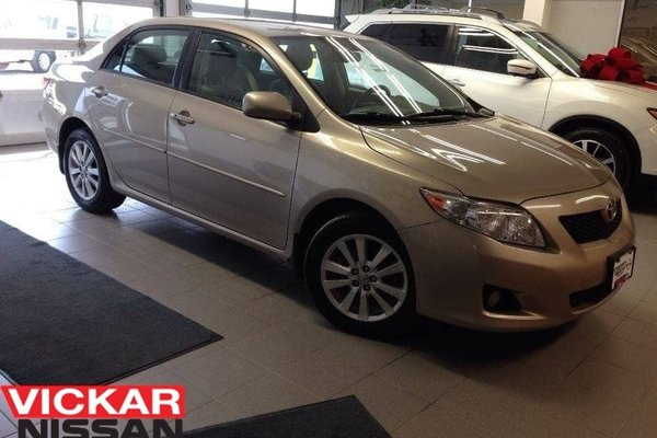 2009 Toyota Corolla LE / LOCAL TRADE / LOW KMS