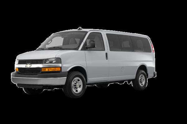 2018 Chevrolet Express 3500 PASSENGER LT