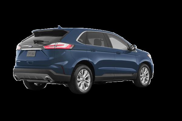 2019 ford edge titanium blue metallic blue metallic blue metallic