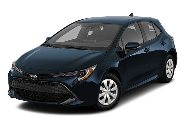 acadia toyota | the 2021 corolla hatchback s in moncton