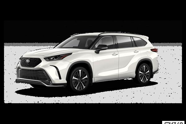 New 2021 Toyota Highlander Xse North Bay Toyota In Ontario