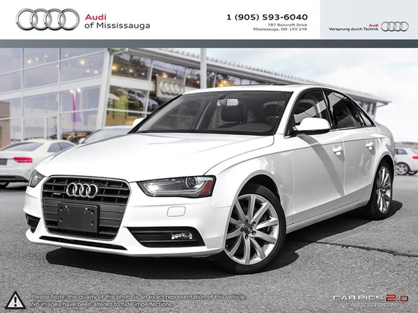 pre-owned 2014 audi a4 2.0 8sp tiptronic komfort in mississauga | a21608