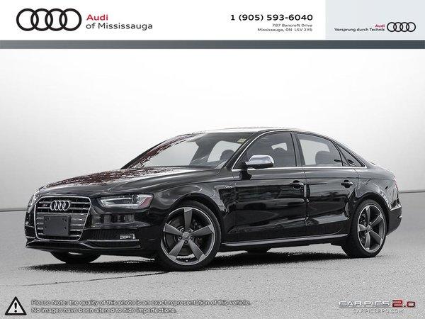 2016 Audi S4 3.0T Technik plus quattro 7sp S tronic