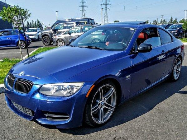 BMW 3 Series 335is+320 HP+ TRANSMISSION M3+ M PACK+CUIR ROUGE++ 2013
