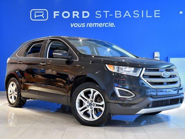 Ford Edge Titanium AWD+ GPS+ TOIT PANORAMIQUE!! 2015