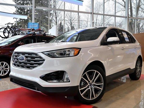 2019 Ford Edge Titanium - AWD 2.0L