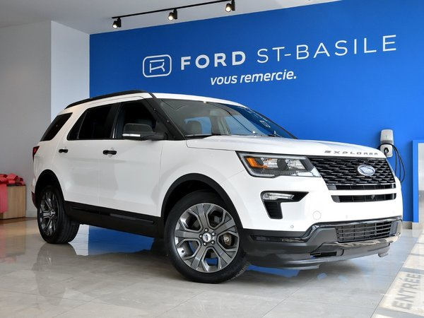 2018 Ford Explorer Sport+ TOIT PANORAMIQUE+ GPS+ MAGS 20''+++