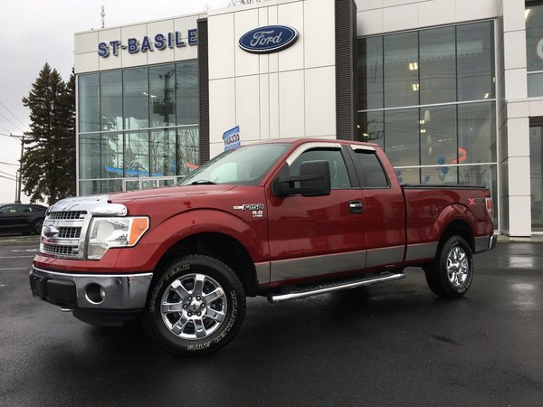 2013 Ford F-150 XLT / SuperCab / 4WD