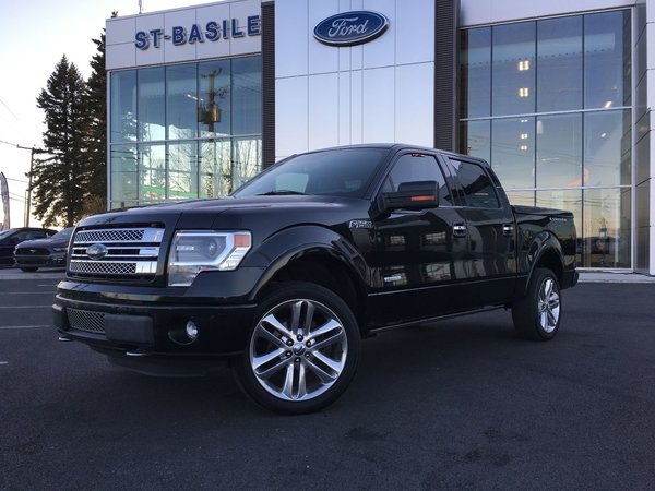 2014 Ford F-150 LIMITED / Toit Ouvrant / NAVI