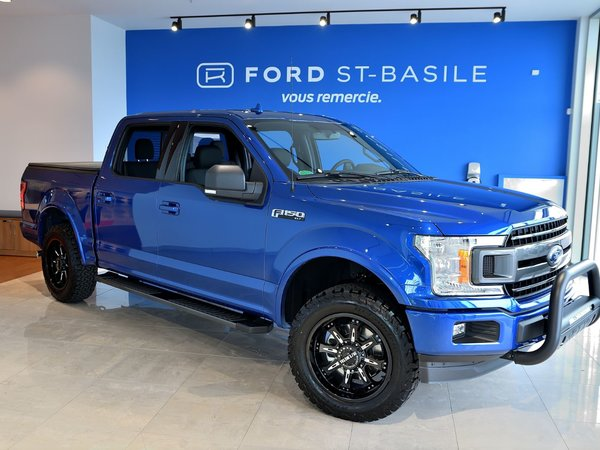 ford f150 4x4 supercrew xlt 145 wb 2018 bleu tonnerre neuf vendre 49995 0 ford st. Black Bedroom Furniture Sets. Home Design Ideas
