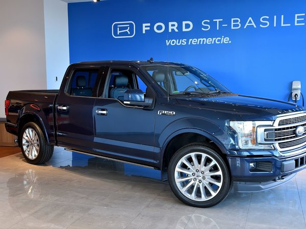 used 2018 ford f150 limited    4x4    3 5l    wow    blue for sale at  74995 0