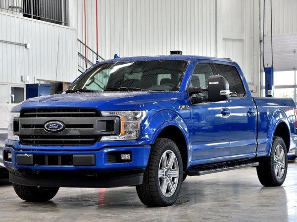 Ford F150 4x4 Supercrew Xlt 157 Wb 2018 Bleu Tonnerre