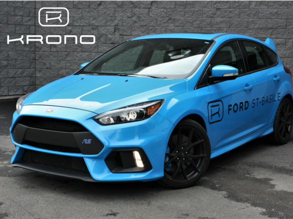 Ford Focus RS / MOUNTUNE B3 Package 400HP 2016