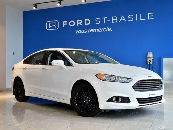 2014 Ford Fusion SE+CUIR+TOIT+GPS+MAGS 18'' NOIR+++