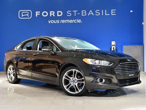 Ford Fusion Titanium+ GPS+ CUIR+ CAMÉRA!! 2015