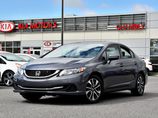 Honda Civic Sedan EX CVT **Caméra de Recul** Bluetooth ** MAGS ** 2015