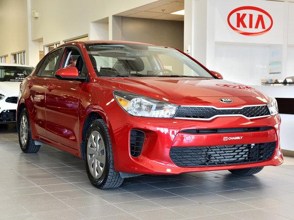 Kia Rio LX+ **Bluetooth, Volant et sièges chauffants** 2018
