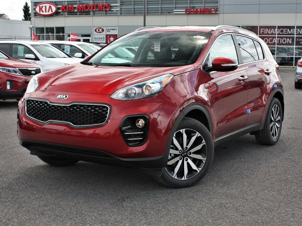 kia sportage ex awd 2019 rouge ecarlate met neuf vendre 31180 0 kia chambly 19044. Black Bedroom Furniture Sets. Home Design Ideas