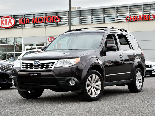 2013 Subaru Forester LIMITED+CUIR+TOIT PANO+++