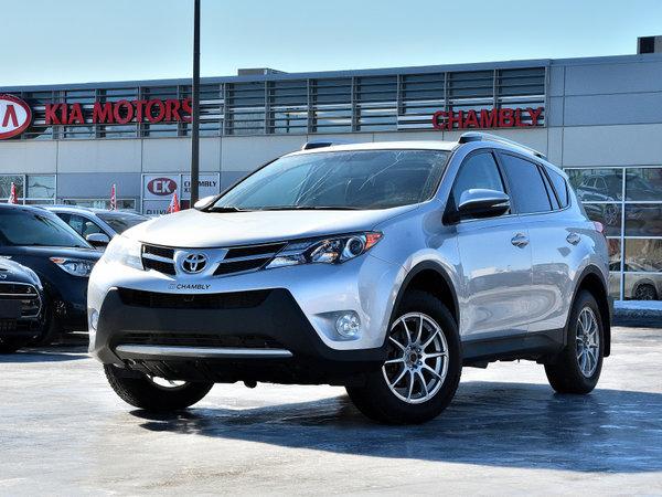 Toyota RAV4 Limited AWD**Cuir**Navigation**Pneus d'Hiver** 2014