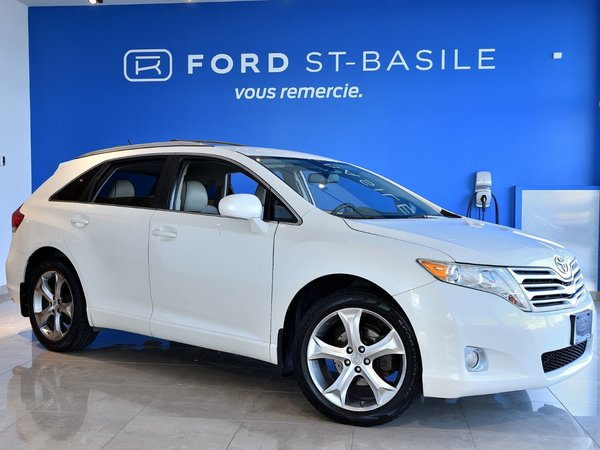 2010 Toyota Venza V6 AWD / CUIR / DVD / 20 POUCES /