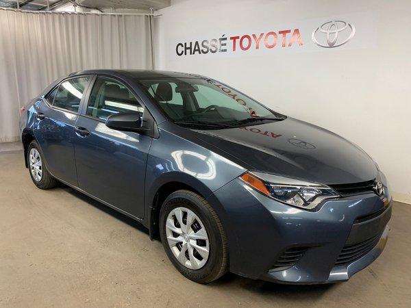 Toyota Corolla Automatique + A/C 2014