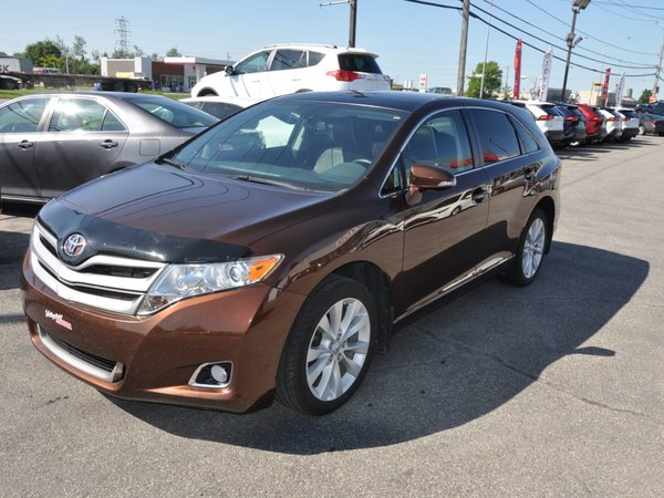 2015 Toyota Venza XLE TOIT PANO,CUIR,GPS,MAGS
