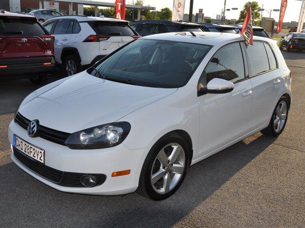 Volkswagen Golf 2.5L CONFORTLINE, VITRE TEINTÉ, AUCUNE ROUILLE 2012