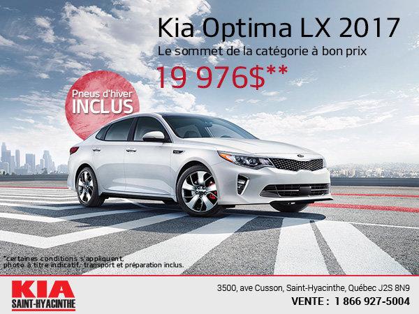 La Kia Optima LX 2017
