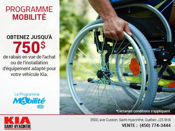 Assistance mobilité