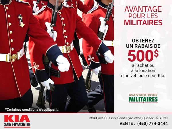 Avantages militaires